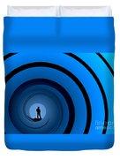 Bond Man Duvet Cover