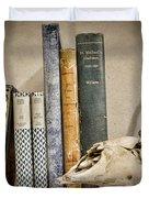 Bone Collector Library Duvet Cover