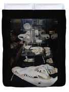 Bone Heads Duvet Cover