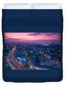 Bonn Panorama - Stadthaus Duvet Cover