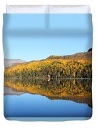 Bonnie Lake Reflections Duvet Cover