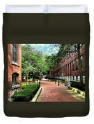Boott Cotton Mills Courtyard 2 Duvet Cover