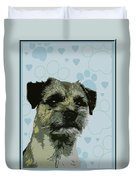 Border Terrier Duvet Cover