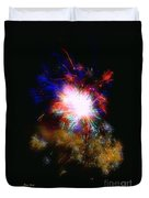 Born On The 4th Of July Duvet Cover