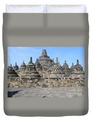 Borobudur Mahayana Buddhist Monument Duvet Cover