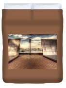Boston - David Von Schlegell - Untiltled Duvet Cover