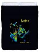 Boston In Spokane 1978 Duvet Cover