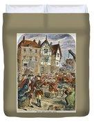 Boston: Occupation, 1768 Duvet Cover