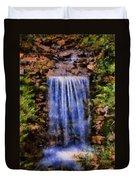 Botanical Garden Falls Duvet Cover