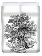 Botany: Oak Tree Duvet Cover