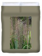 Bottle Brush Grass Duvet Cover