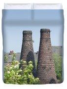 Bottle Kilns Duvet Cover