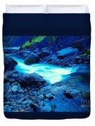 Bottlenecked Water  Duvet Cover