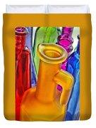 Bottles Duvet Cover