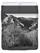 Boulder Colorado Front Range Ncar View Duvet Cover