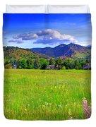 Boulder Park View Duvet Cover