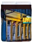 Bourbon Live - French Quarter Duvet Cover