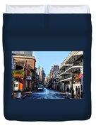 Bourbon Street By Day Duvet Cover