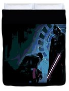Bow To The Dark Side Duvet Cover