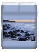 Bowling Ball Beach Duvet Cover