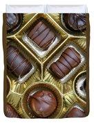 Box Of Chocolates Duvet Cover