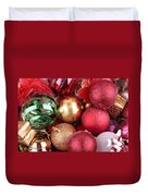Box Of Christmas Decorations  Duvet Cover