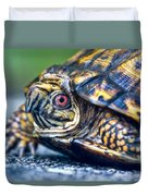 Box Turtle 2 Duvet Cover