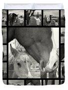 Boy Meets Horse Duvet Cover
