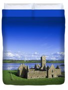 Boyle Abbey, Ballina, Co Mayo Duvet Cover