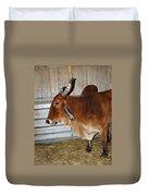 brahma Cow Duvet Cover