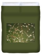 Branches Of Dew Duvet Cover