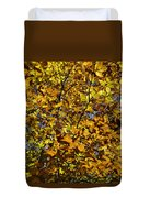 Branches Of Gold Duvet Cover