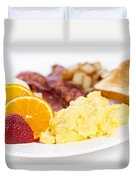 Breakfast Duvet Cover