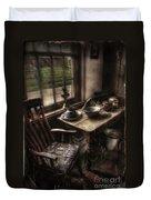 Breakfast Table Duvet Cover