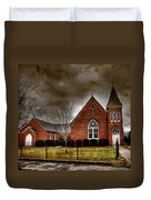 Brick Church Duvet Cover