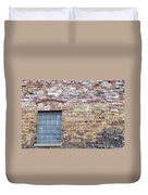 Brick Wall Window Duvet Cover