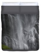 Bridal Veil Falls, Lowe River Duvet Cover