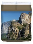 Bridal Veil In The Distance Duvet Cover