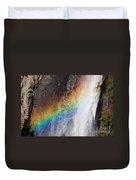 Bridalveil Fall Rainbow Duvet Cover