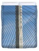 Bridge Abstract Duvet Cover