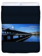 Bridge Across A River, Double-decker Duvet Cover