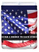 Bridge-builder Duvet Cover