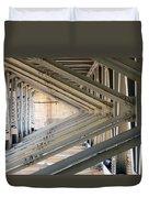 Bridge Geometry Duvet Cover