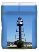 Bridge Lighthouse Duvet Cover
