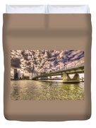Bridge Over Rotterdam  Duvet Cover