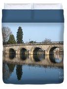 Bridge Over The River Thames Duvet Cover