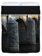 Bridge Pillars Duvet Cover