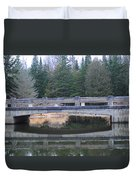 Bridge Reflection Duvet Cover