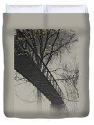Bridge Reflection Duvet Cover