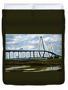 Bridge To Charleston Duvet Cover